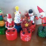Dancing Christmas Characters